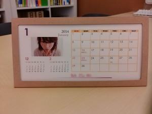 写真入りカレンダー